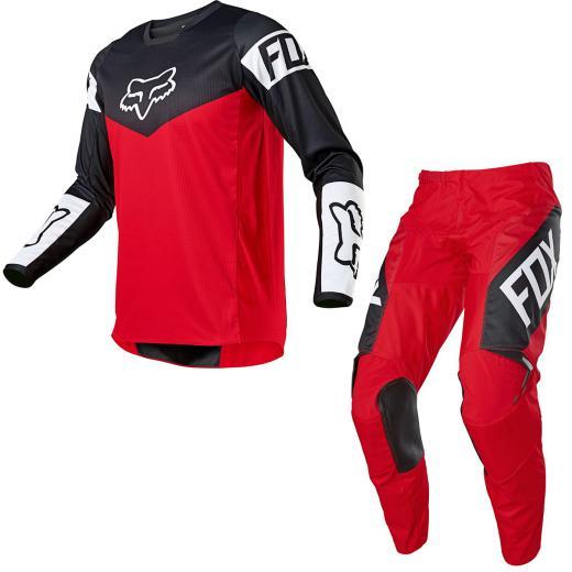 Kit Calça + Camisa FOX 180 Revn 2021 Vermelho