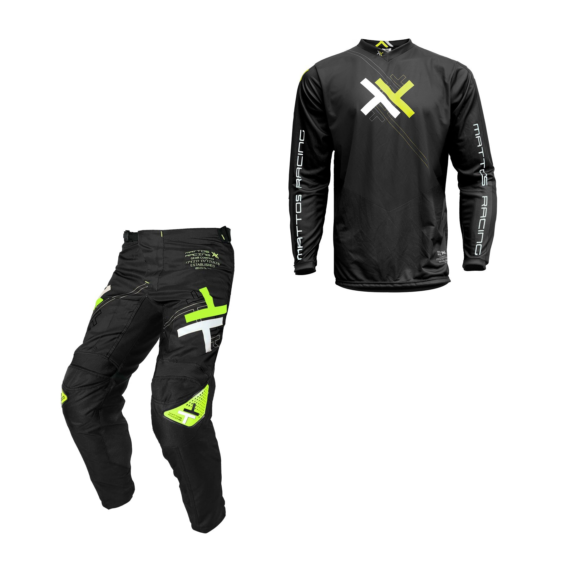 Kit Calça + Camisa Mattos Racing Atomic