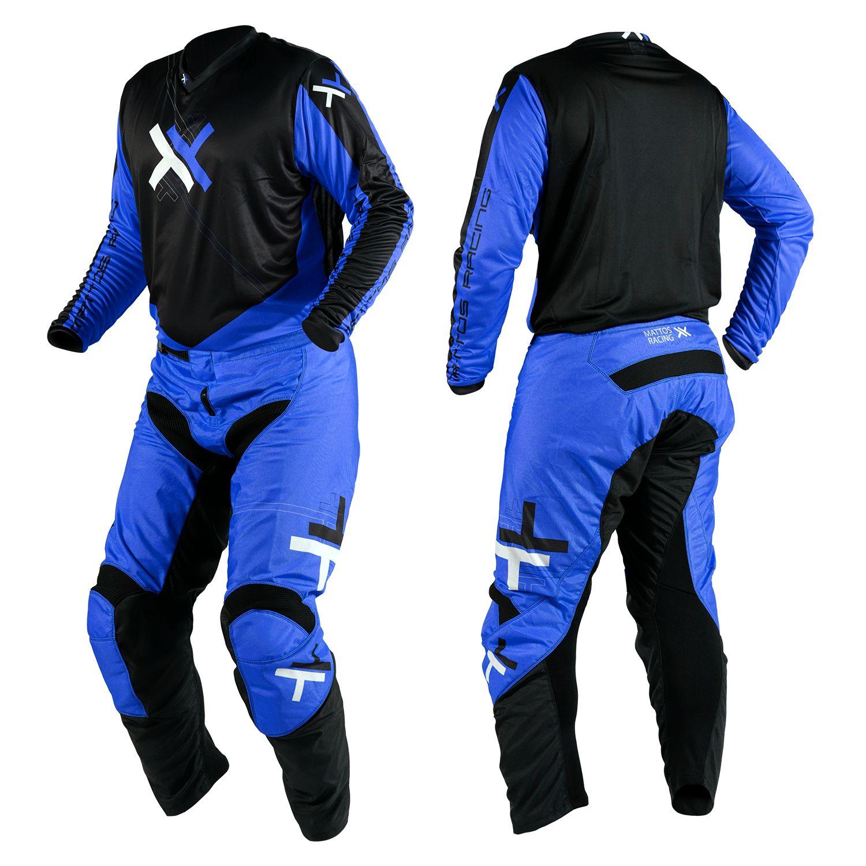 Kit Calça + Camisa Mattos Racing Atomic Azul