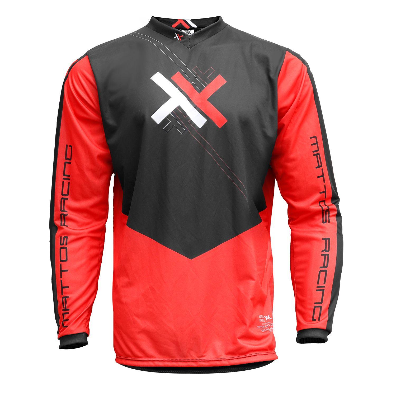 Kit Calça + Camisa Mattos Racing Atomic Vermelho