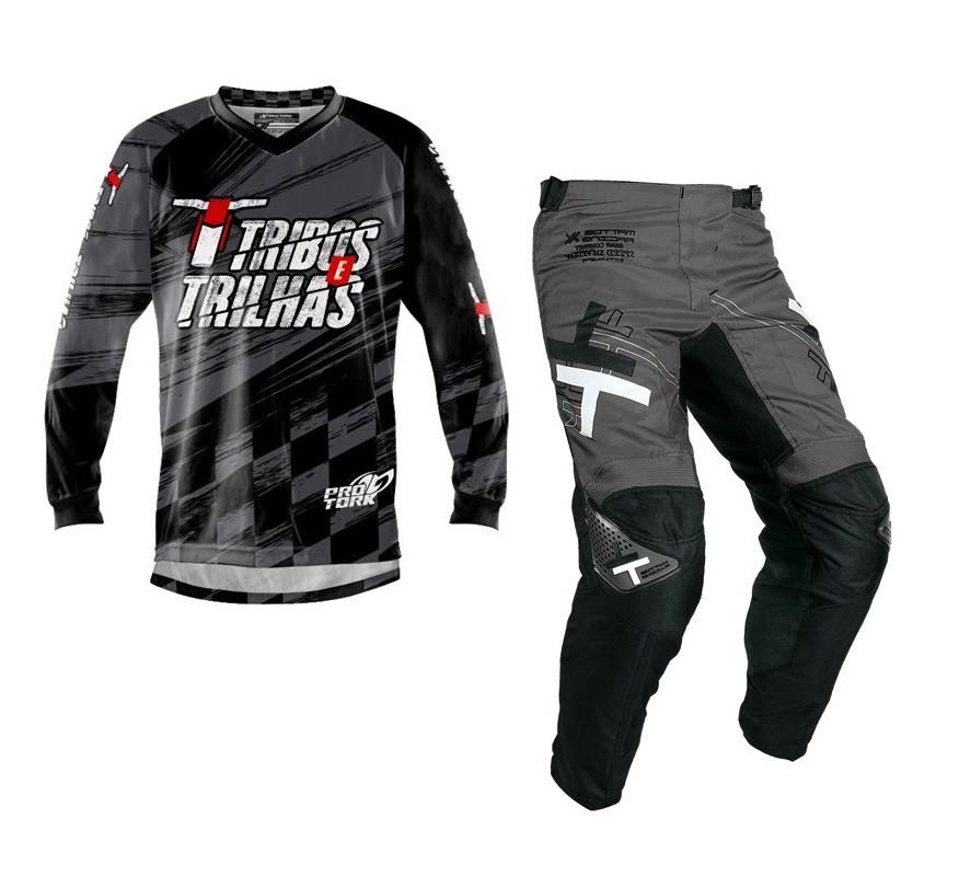 Kit Calça + Camisa Tribos e Trilhas Dark