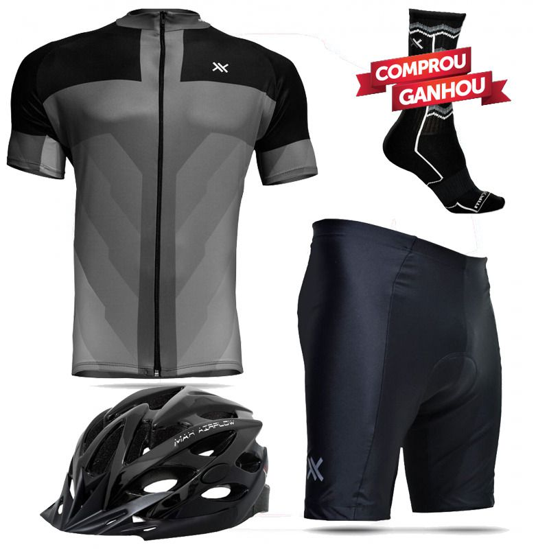 Kit Conjunto Roupa Bike Mattos Racing