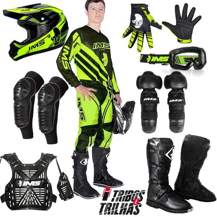 Kit Equipamento IMS 2019 Motocross Trilha