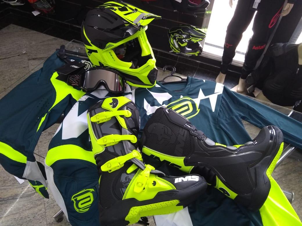 Kit Equipamentos Motocross TOP