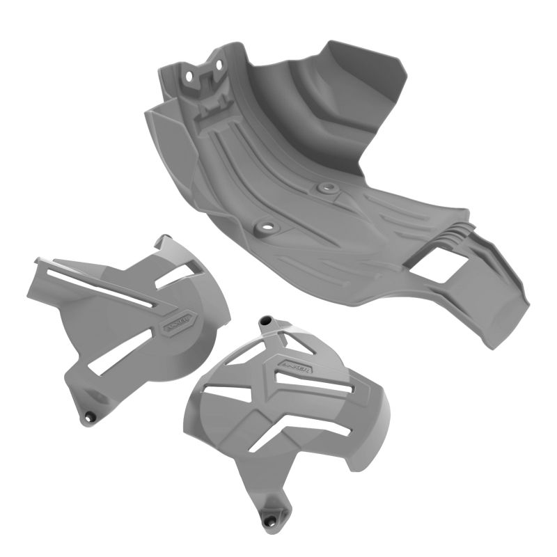 Kit I Protetores CRF 250F Anker - Cinza
