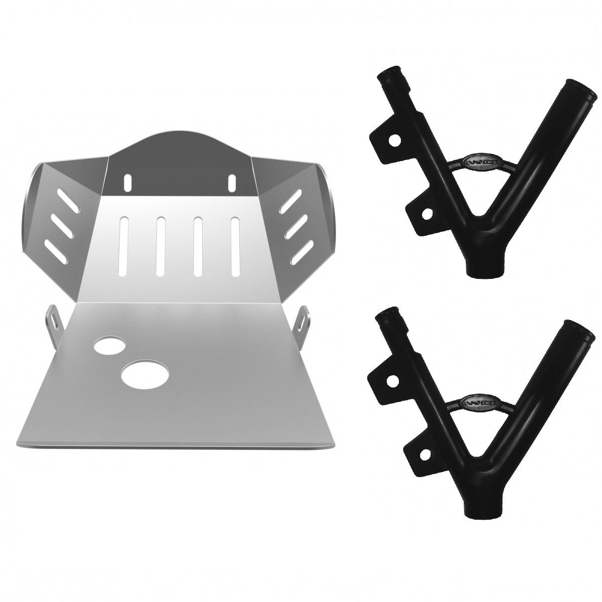 Kit Protetor de Motor + Quadro para Toirnado Anker
