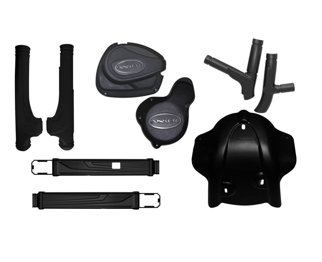 Kit Protetores Anker CRF230 Motor + Bengala + Balança + Quadro Preto