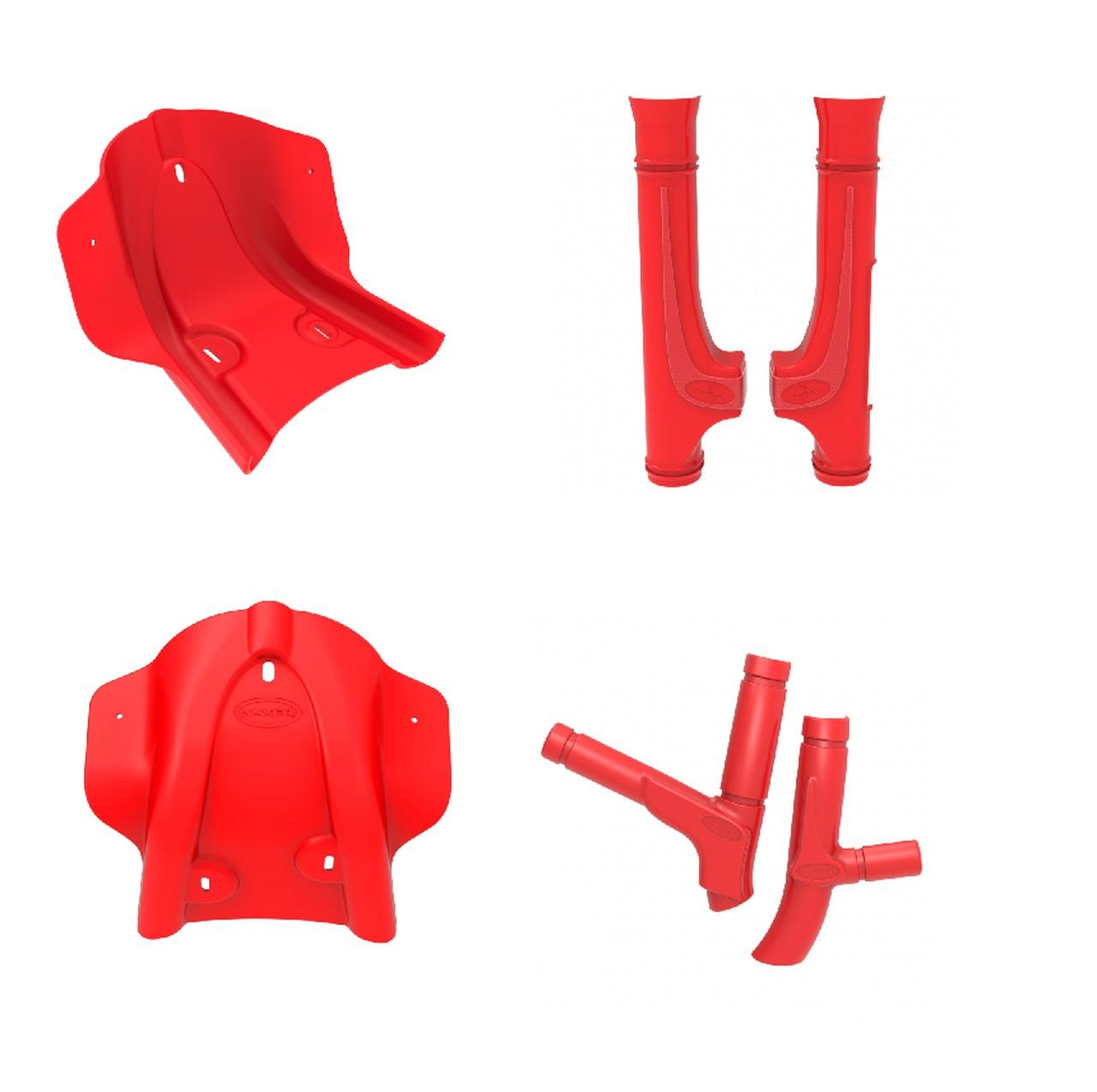 Kit Protetores Anker CRF230 Vermelho
