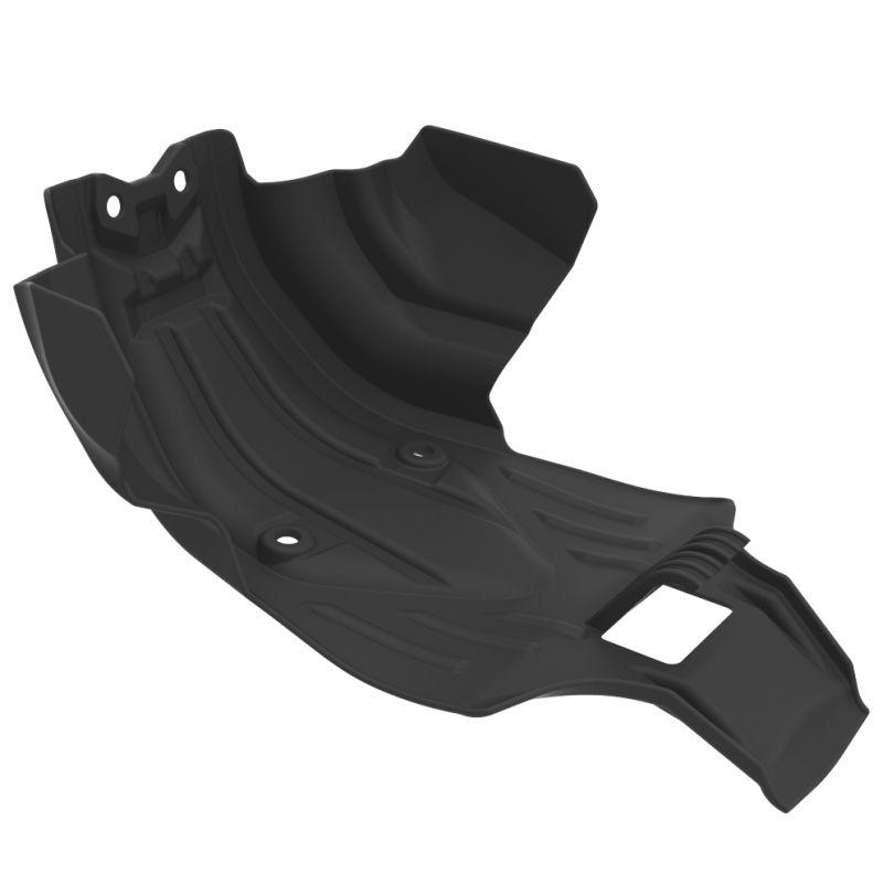 Kit Protetores Anker CRF250F Motor + Tampas + Quadro Preto e Vermelho