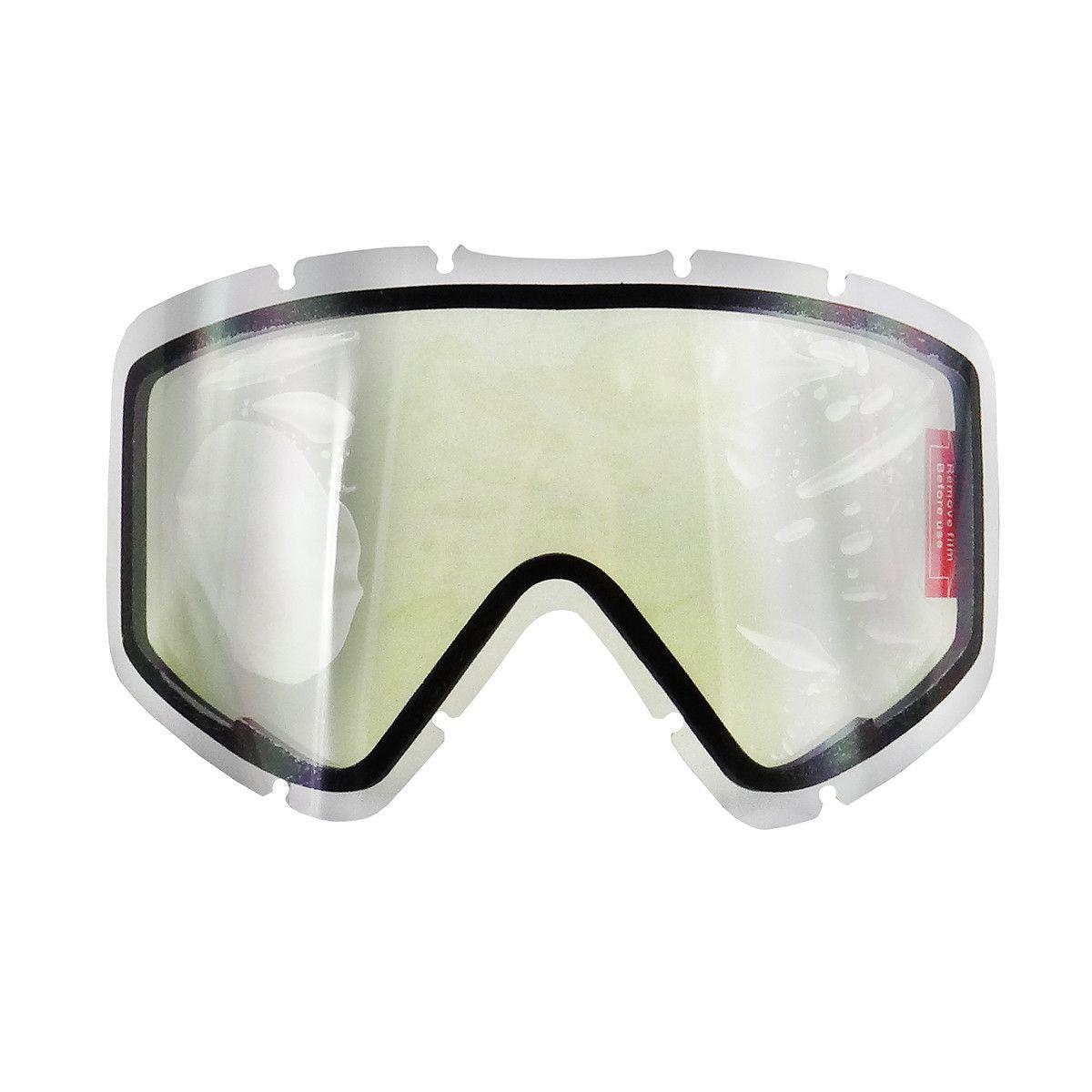 Lente ASW Dupla Anti Embaçante Óculos A1 e A3  Transparente