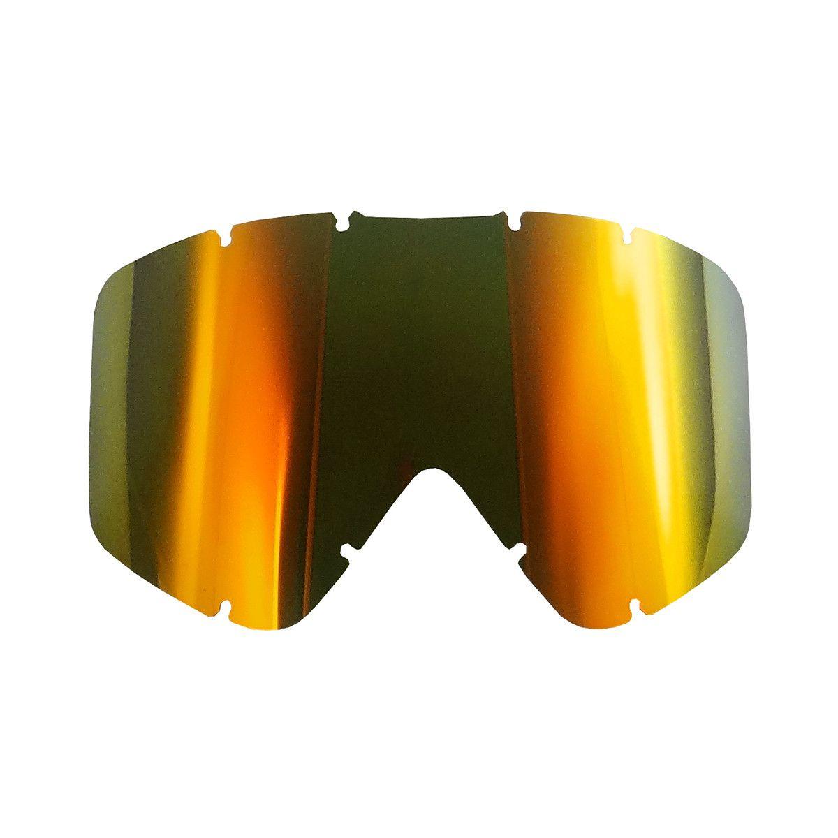 Lente Óculos ASW A2 e A3 Espelhada Vermelha