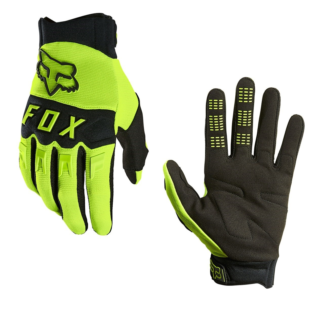 Luva FOX Dirtpaw 2021 - Fluor
