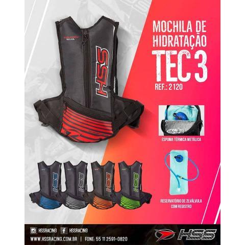 Mochila de Hidratação HSS Tec 3