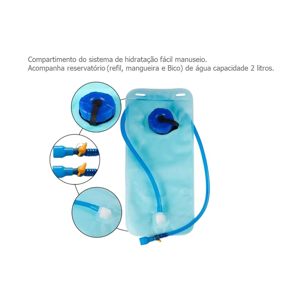 Mochila de Hidratação Tribos e Trilhas 2 Litros