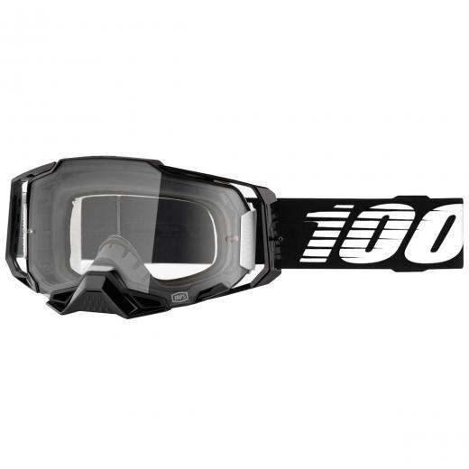 Óculos 100% ARMEGA Black Clear Grátis Boné 100%