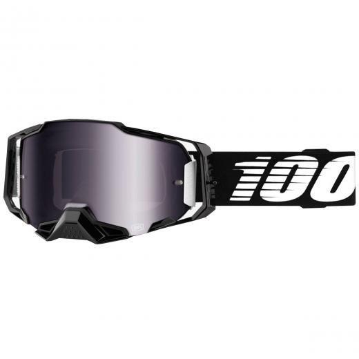 Óculos 100% ARMEGA Black Espelhado