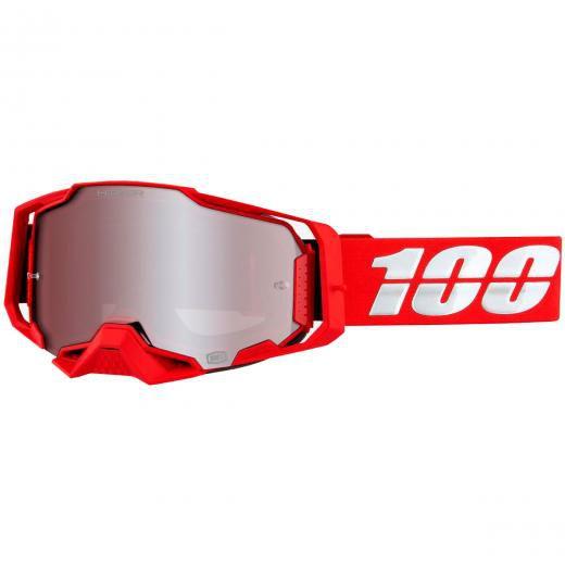 Óculos 100% ARMEGA Espelhado Hiper Red