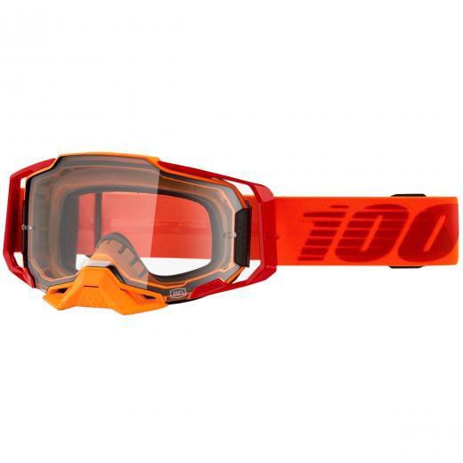 Óculos 100% ARMEGA Litkit Clear Grátis Boné 100%