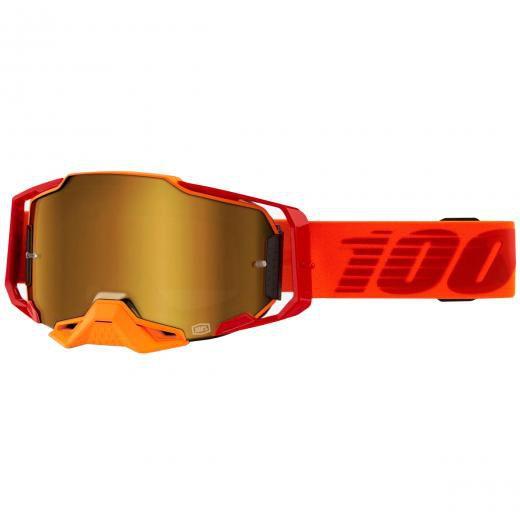 Óculos 100% ARMEGA Litkit Espelhado Grátis Boné 100%
