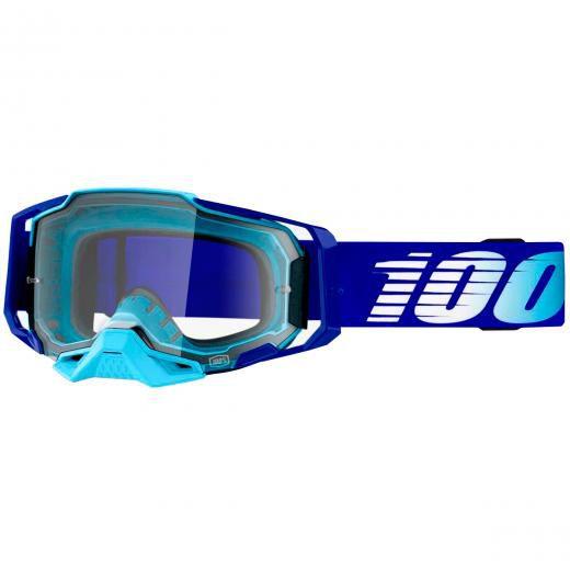 Óculos 100% ARMEGA Royal Clear Grátis Boné 100%