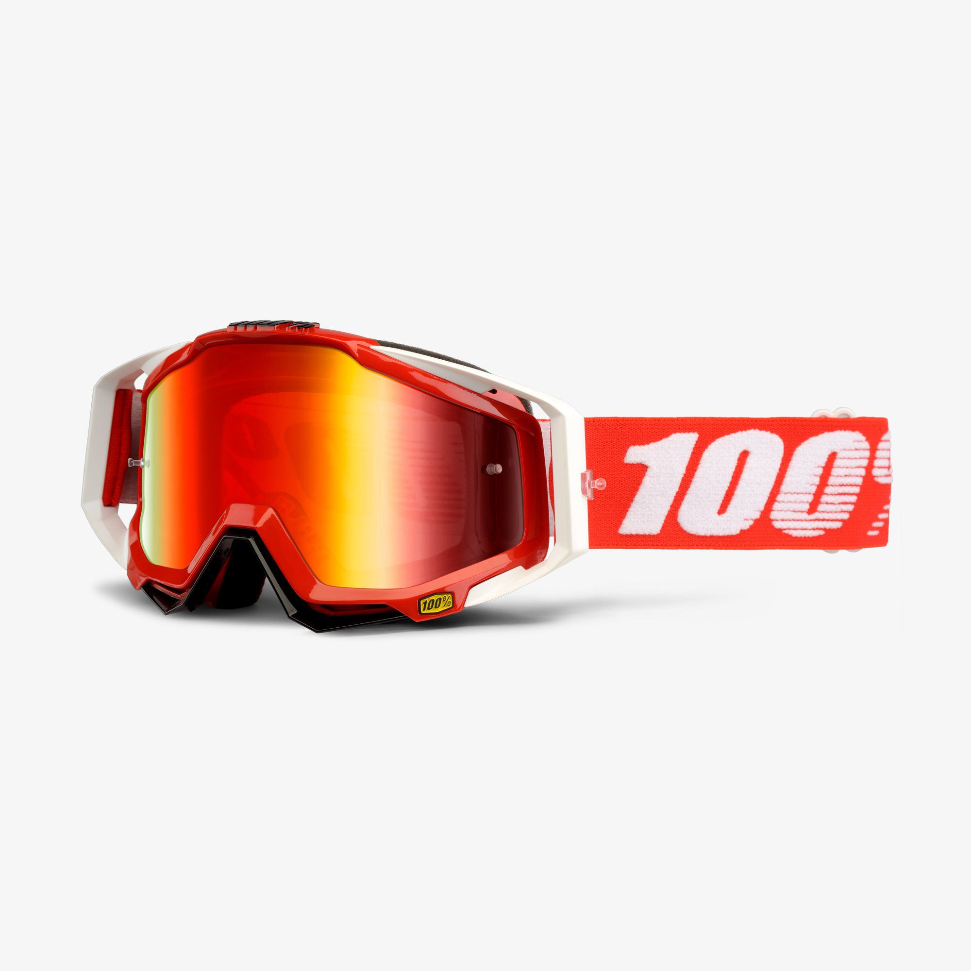 Óculos 100% Racecraft Fire Red