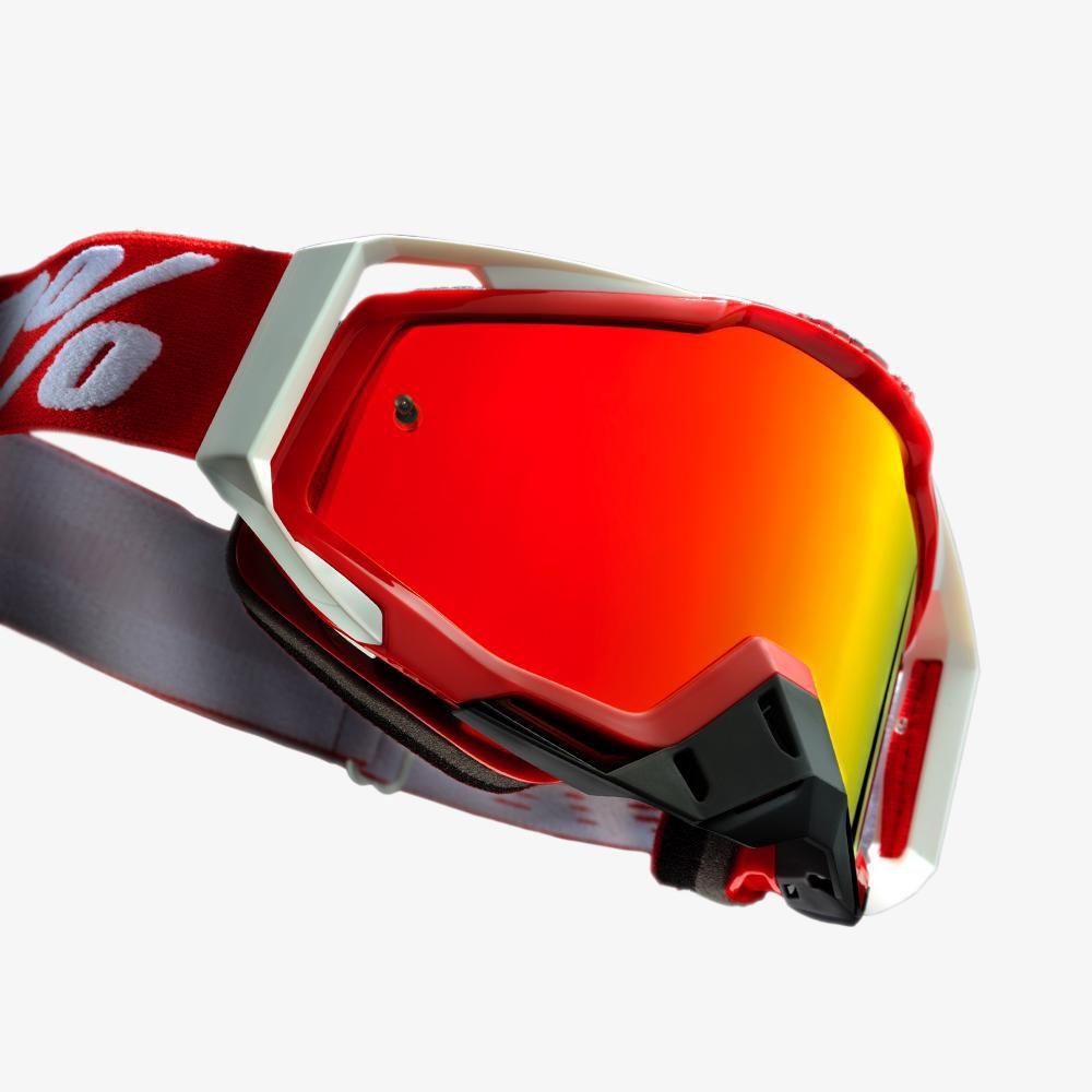 Óculos 100% Racecraft Fire Red