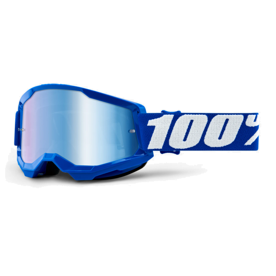 Óculos 100% Strata 2 Blue Lente Espelhada