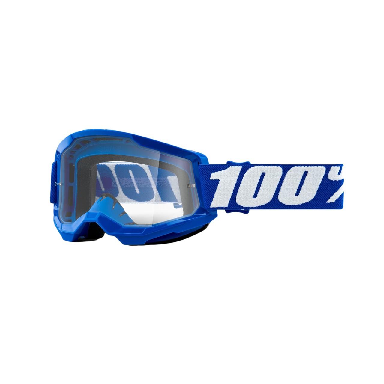 Óculos 100% Strata 2 Blue Lente Transparente