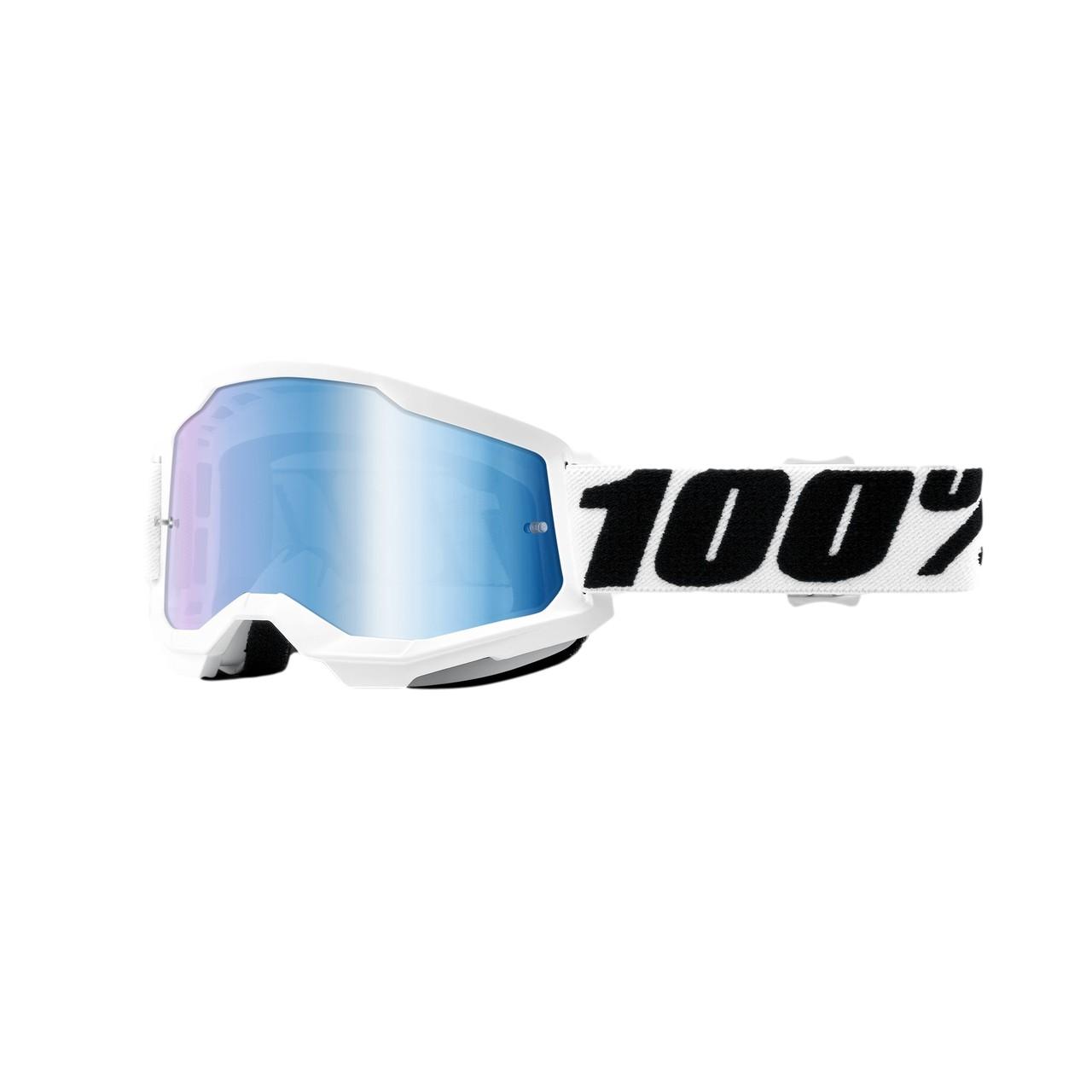 Óculos 100% Strata 2 Everest Lente Espelhada