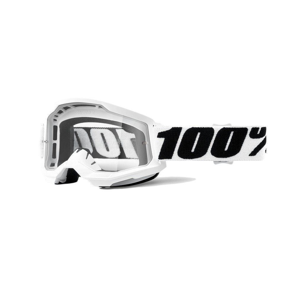 Óculos 100% Strata 2 Everest Lente Transparente