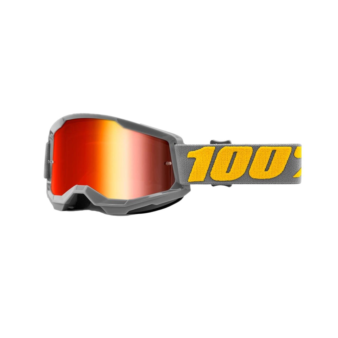 Óculos 100% Strata 2 Izipizi Lente Espelhada