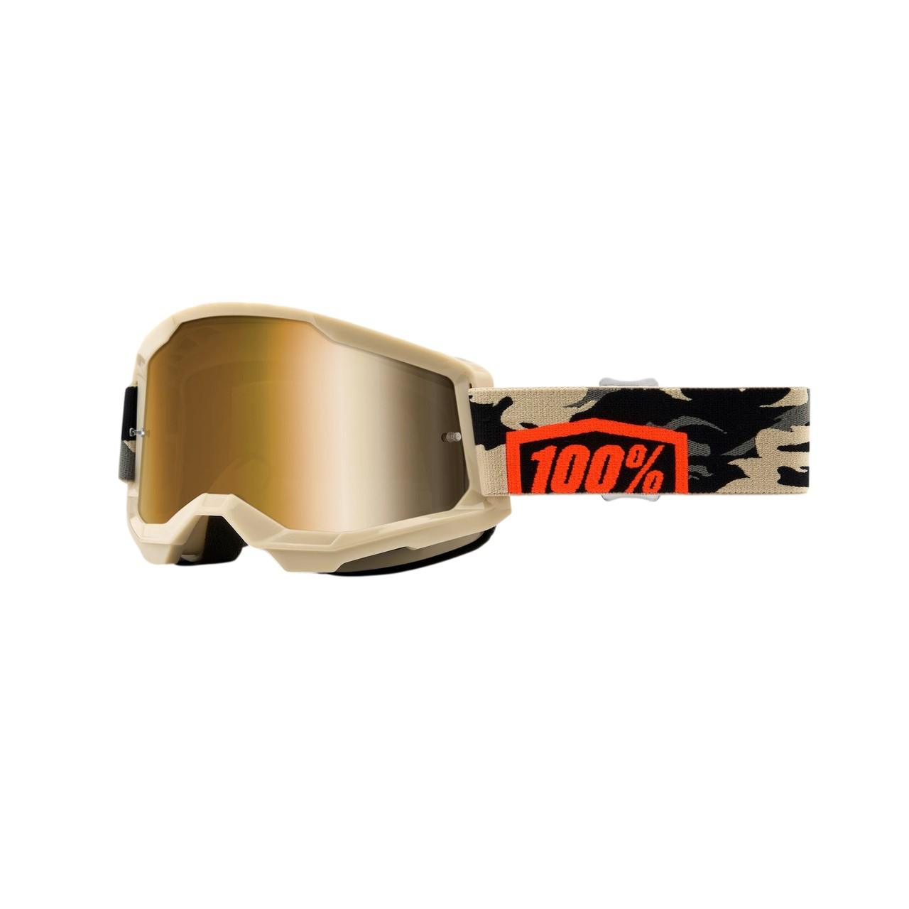 Óculos 100% Strata 2 Kombat Lente Espelhada