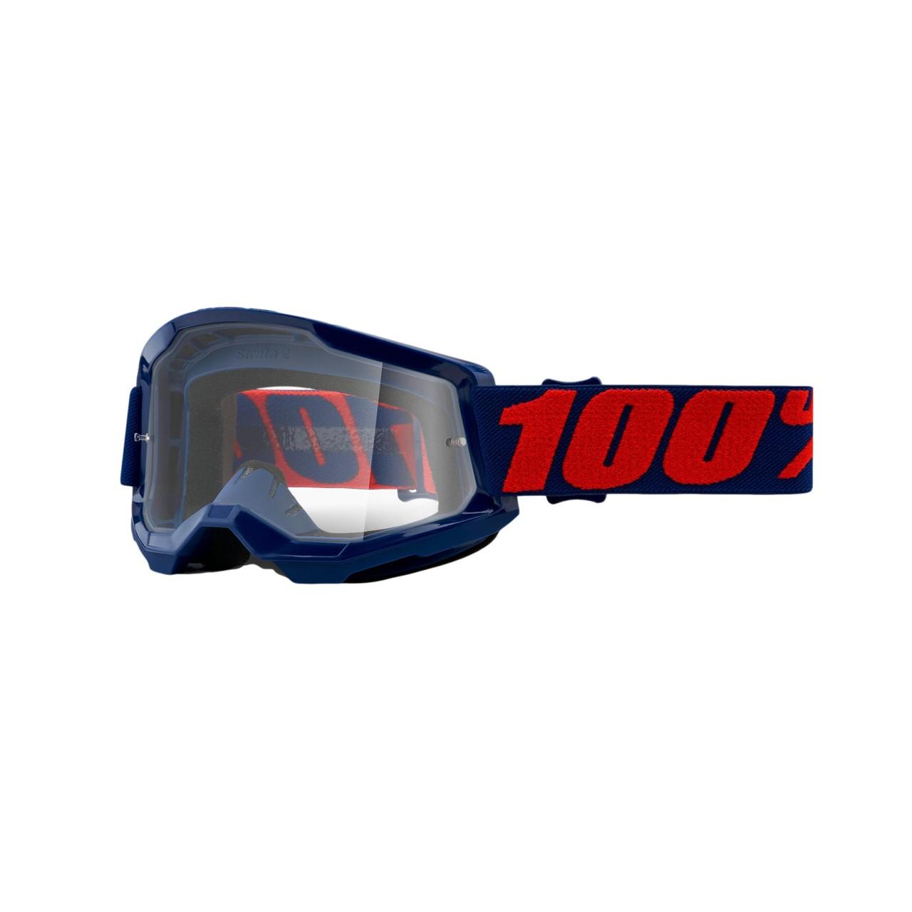 Óculos 100% Strata 2 Masego Lente Transparente