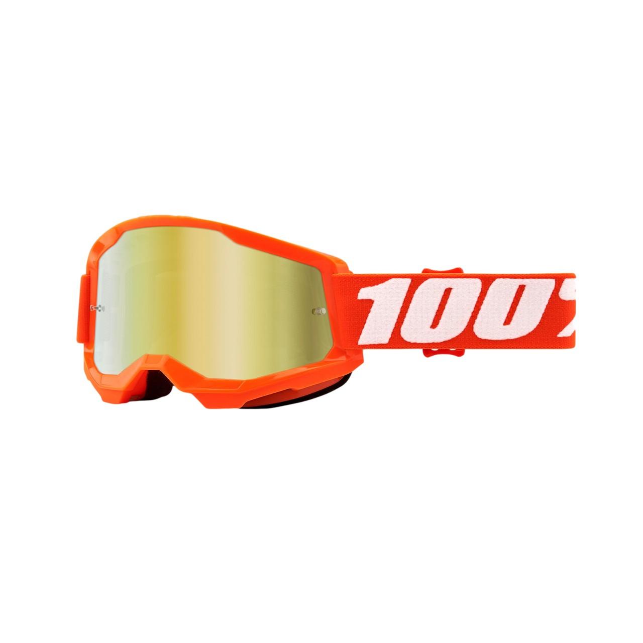 Óculos 100% Strata 2 Orange Lente Espelhada
