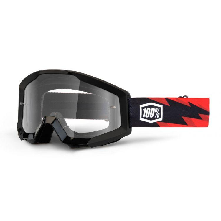 Óculos 100% Strata Slash Lente Transparente