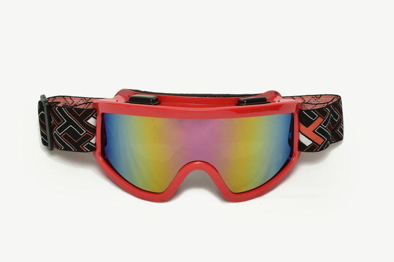 Óculos Mattos Racing Mx Com Lente Espelhada