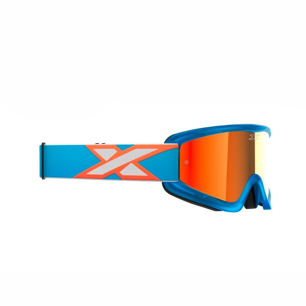 Óculos X-Brand Flat Out Espelhado Azul