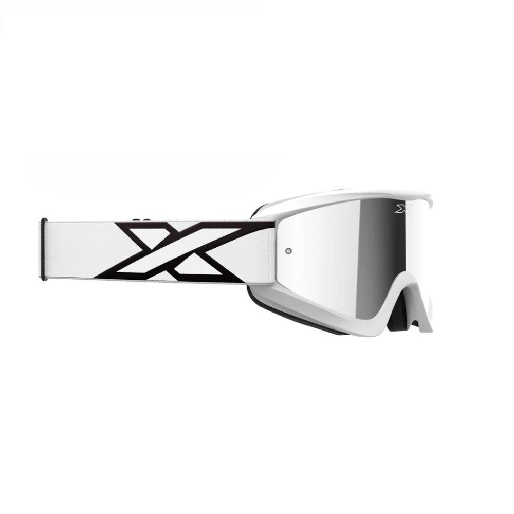 Óculos X-Brand Flat Out Espelhado Branco