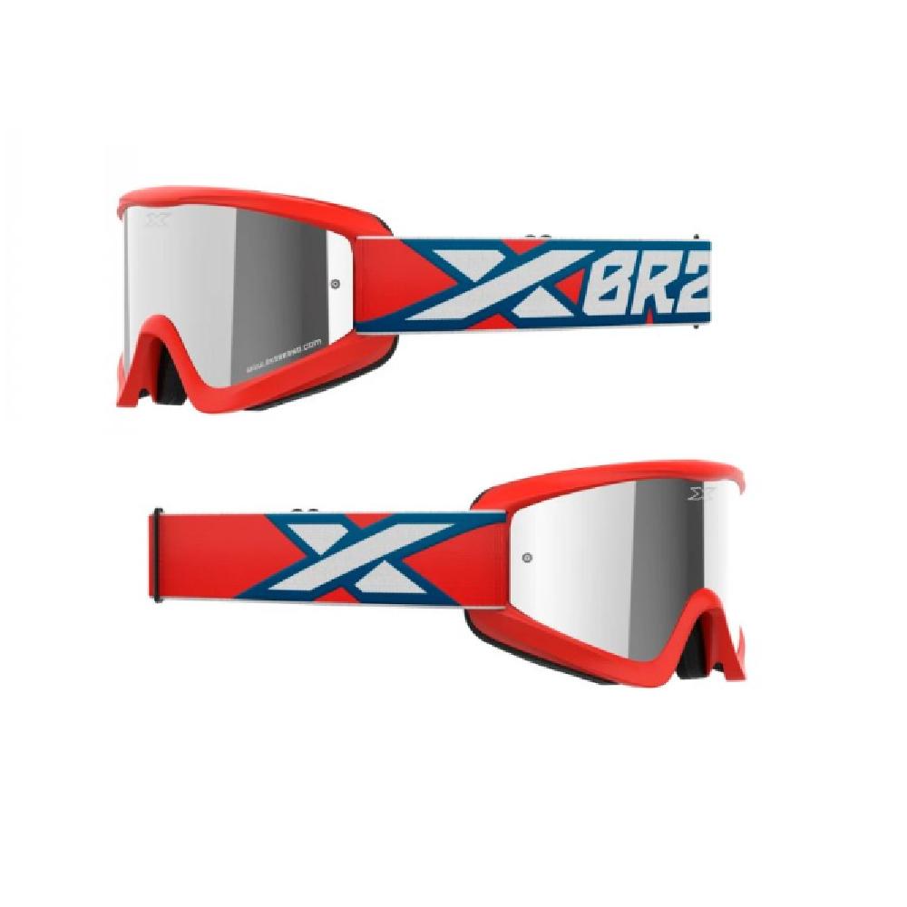 Óculos X-Brand Flat Out Espelhado Vermelho