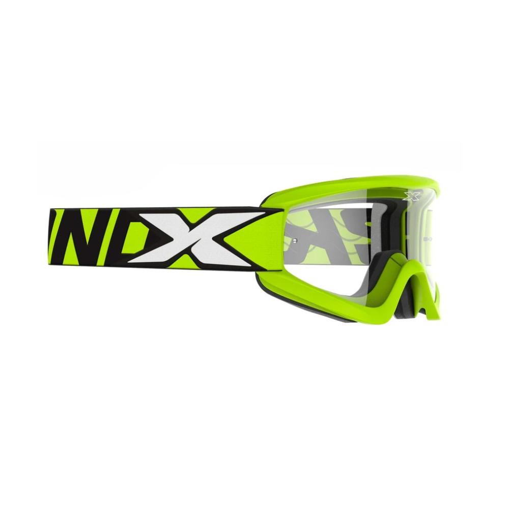 Óculos X-Brand Flat Out Transparente Amarelo Fluor