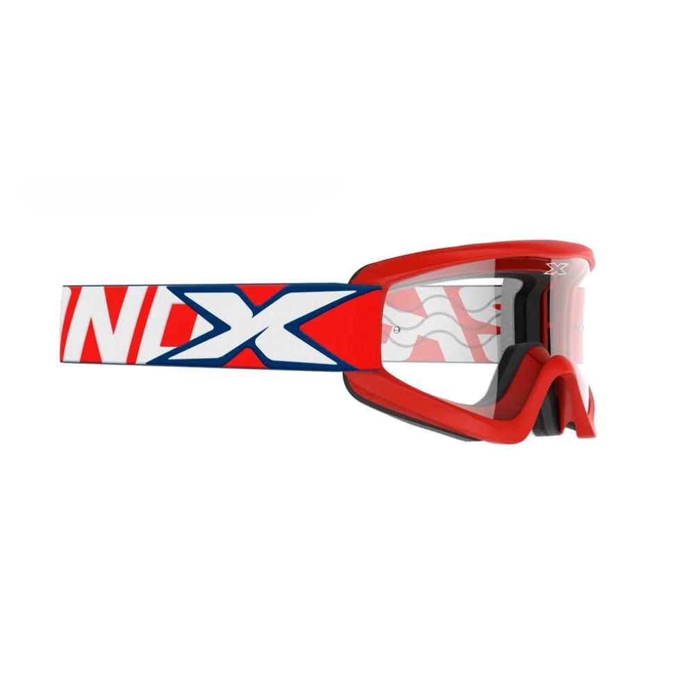Óculos X-Brand Flat Out Transparente Vermelho