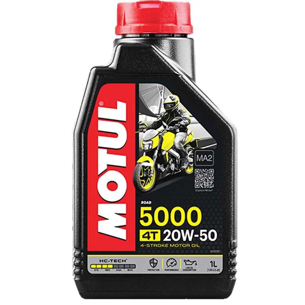 Óleo de Motor  Motul 5000 20w50 4T 1L Semissintético