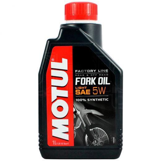 Óleo Suspensão Motul Fork Oil Factory Line Light 5W - 1 Litro