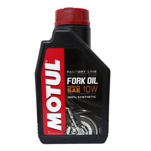 Óleo Suspensão Motul Fork Oil Factory Line Medium 10W - 1 Litro