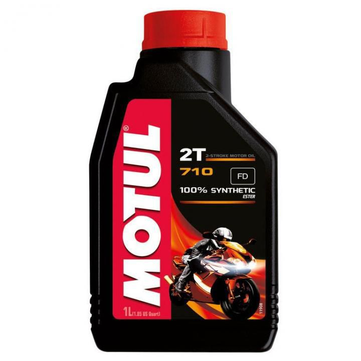 Óleo de Motor Motul 710 2 Tempos 100% Sintético 1 Litro
