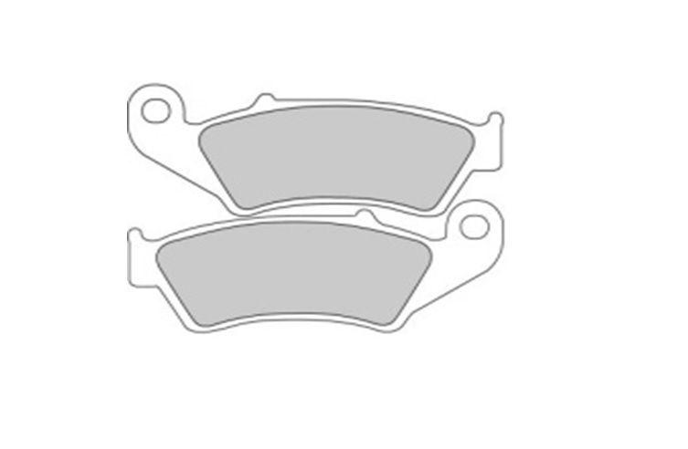 Pastilha de Freio Dianteira Twins Semi-Metálica Honda CRF