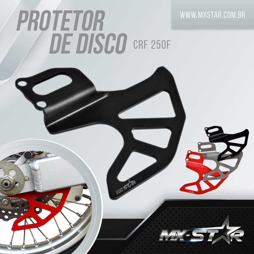 Protetor de Disco de Freio Traseiro MX Star CRF250F