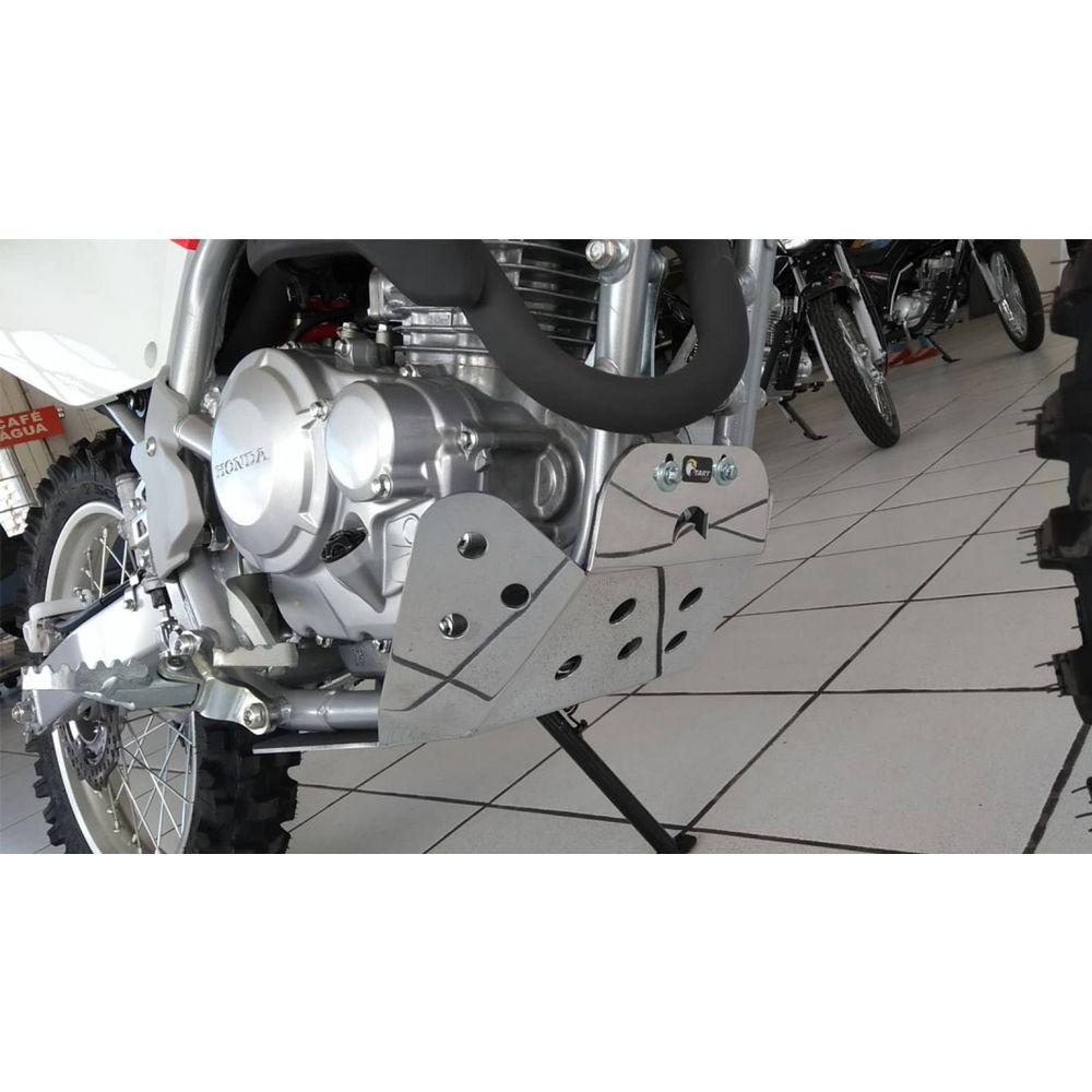Protetor de Motor Start Fechado para CRF 250F - Alumínio