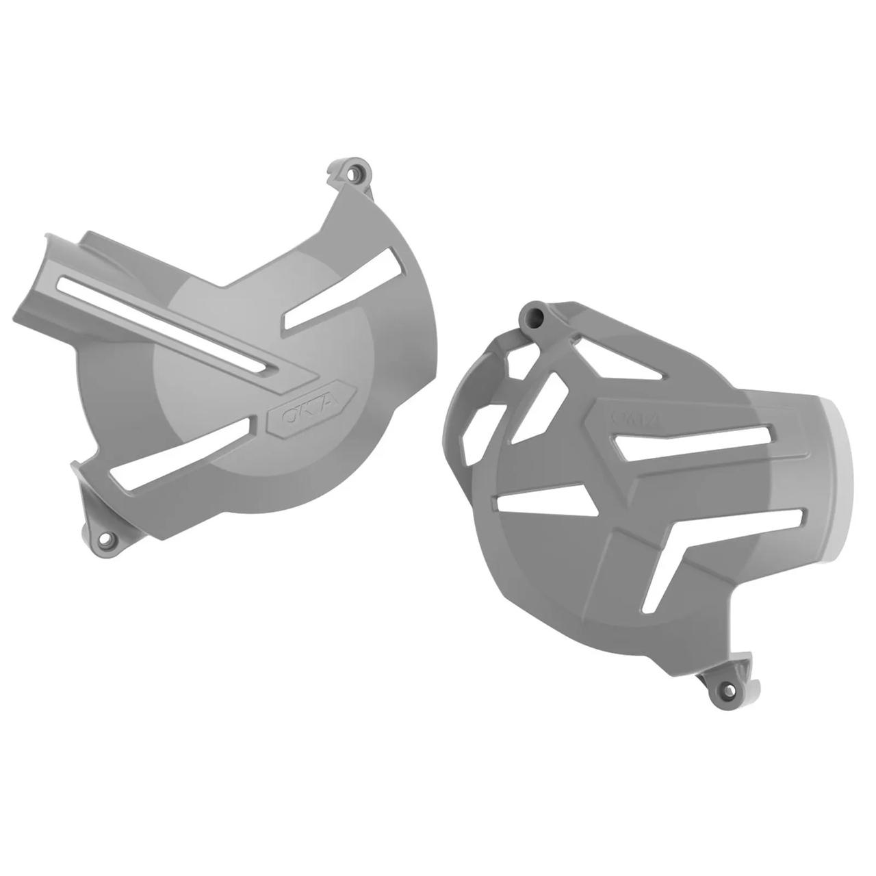 Protetor Lateral Do Motor Okta (Tampas Do Motor) Para CRF 250F