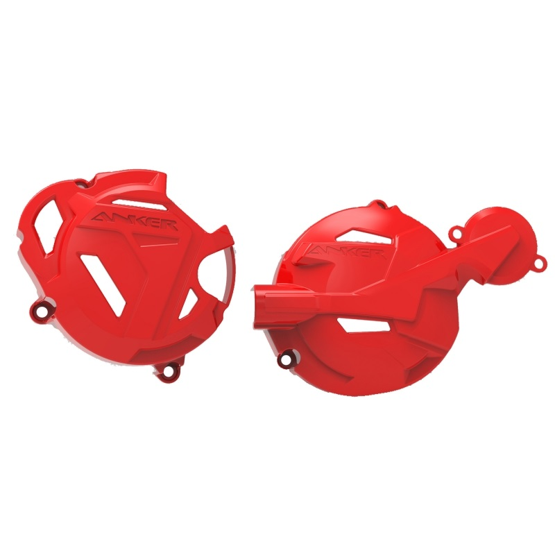 Protetor Tampas Motor Anker CRF 250F (magneto, ignição e óleo)